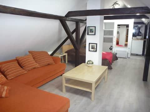 Petite maison individuelle pour 2 à 4 personnes