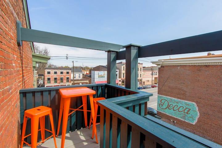 NuLu Downtown  ⁂ Penthouse w/parking