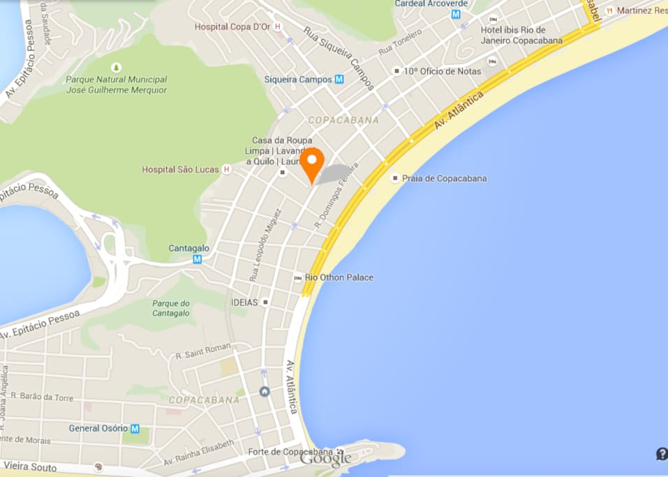 Accurate location spot. Close to two main subway stations and all main transportation. Only a few meters from the beach.