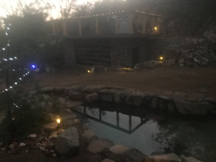Private Spring Pool Oasis & Cabin Grotto