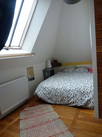 chambre dans  maison bourguignonne - Villars-et-Villenotte - Maison