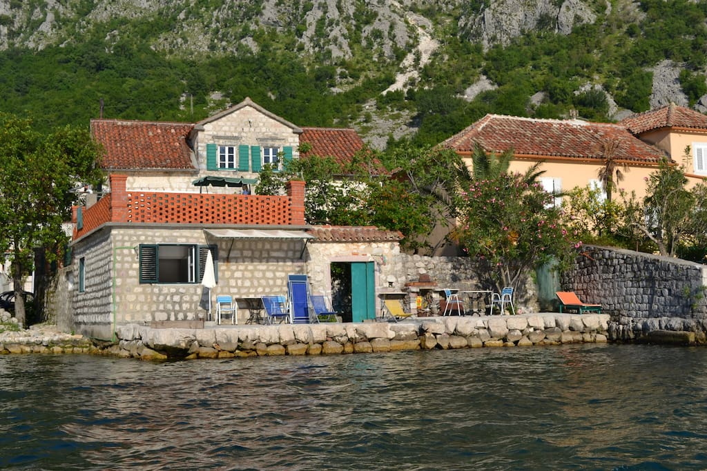 House from the sea