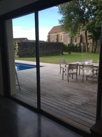 Chambre pour 4 personnes duplex - Saint-Philibert - Hus