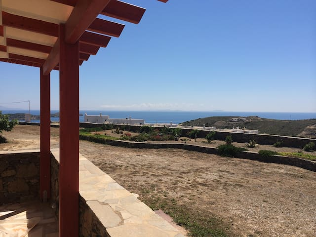 Scenic sea view aegean home - Syros - Casa
