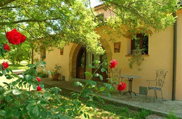 Toskana Bauernhaus ideal fuer Seminare und Gruppen
