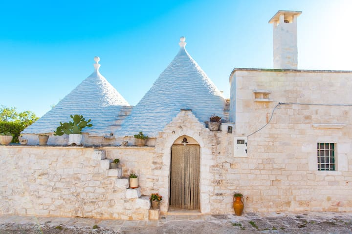 Charming Trullo in the beautiful Itria Valley - Cisternino - Haus