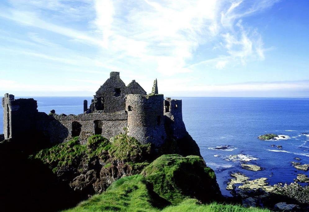 Just a couple of miles to Dunluce castle