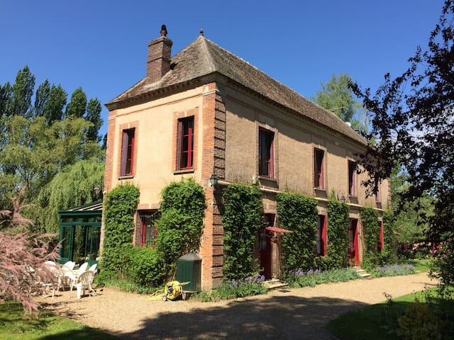 Charming manor house 45 mn Paris - Hécourt - House