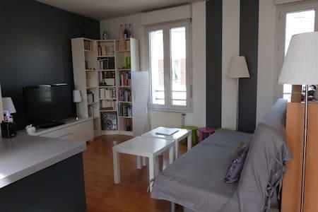 Big flat with 3 bedrooms near Paris - Deuil-la-Barre - Apartment