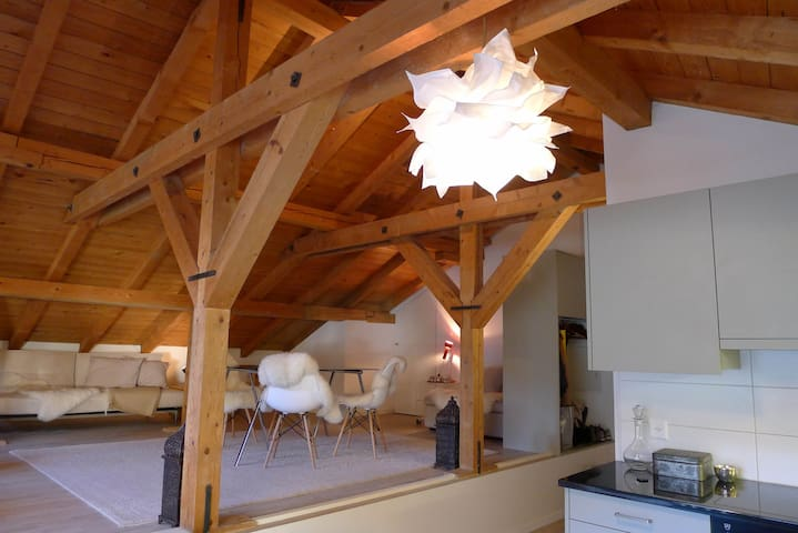 Cosy Mountain Residence - La Punt-Chamues-ch