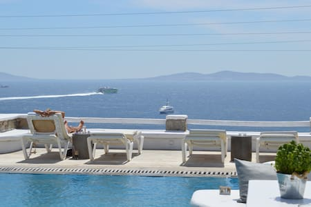 Superior sea view triple studio -1 - Tourlos, Mikonos - Departamento