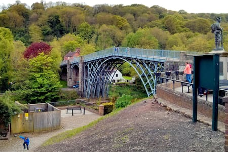 7.Cottage in Picturesque Ironbridge - Coalbrookdale - Dom