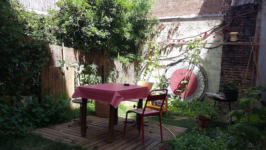 Chambre et jardin le temps d'un été
