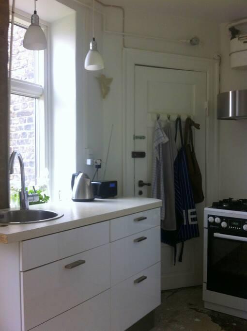 My cute kitchen