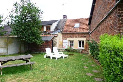 Maisonnette de campagne proche Compiègne