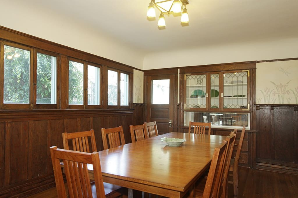 Enjoy your breakfast, or any meal you wish, here in the dining room.