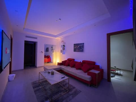 Luxury VIP Bedroom and a Living room apartment | B