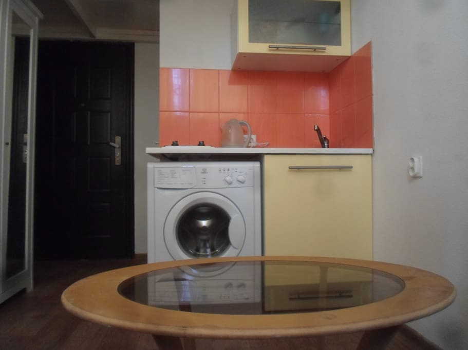 Маленькая встроенная кухня - Small built-in kitchen