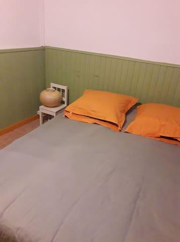 chambre privée, cilaos centre, wifi, sdb, m à lav.