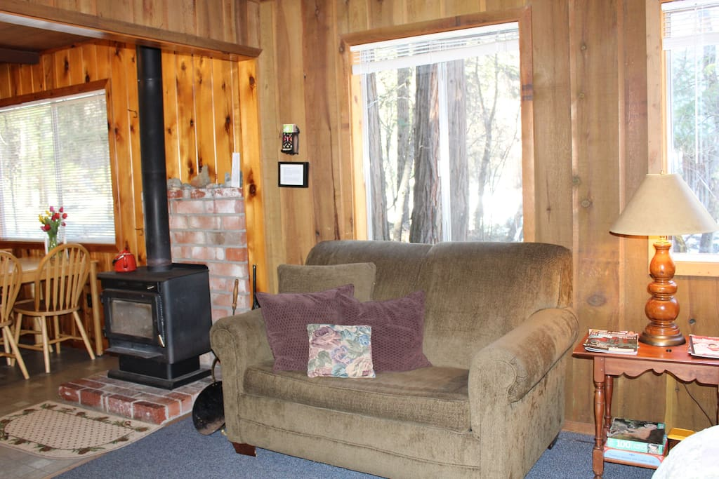 Big Creek Cabin Cabins For Rent In Trinity Center