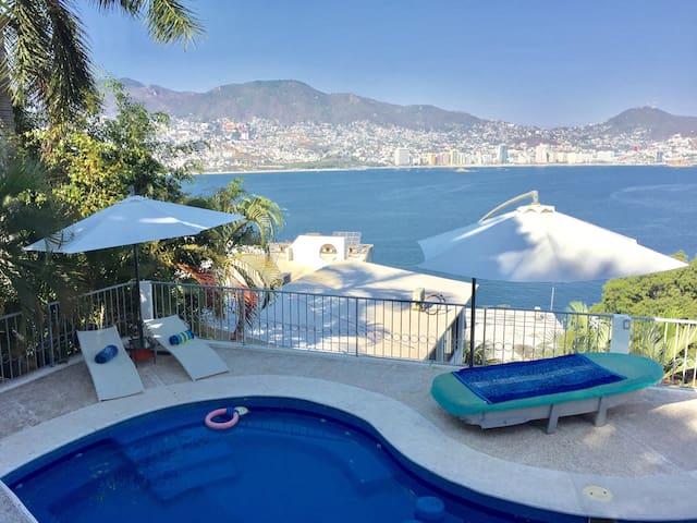 Depto. c/terraza y hermosa vista 2 - Acapulco
