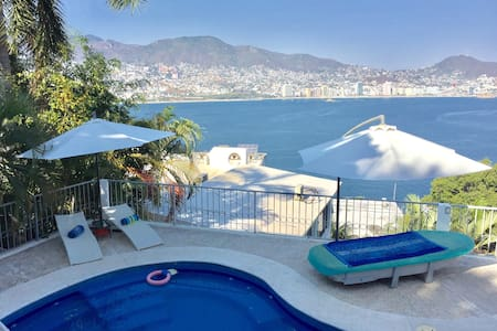 Depto. c/terraza y hermosa vista 2 - Acapulco - Apartment