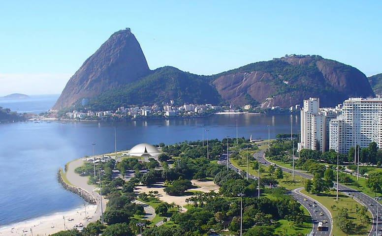 Loft Exclusivo super equipado. Praia do Flamengo.