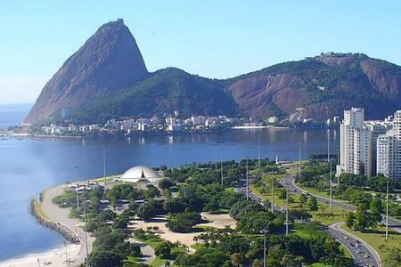 Loft exclusivo super equipado, Praia do Flamengo, - Rio de Janeiro - Loft
