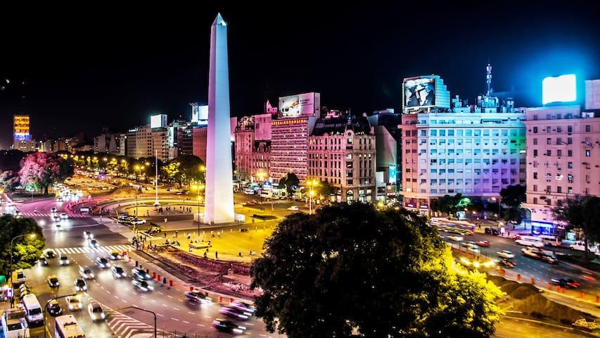 Centro Buenos Aires - Confortable 2 Ambientes