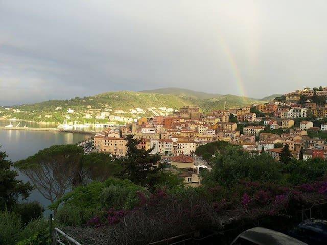 Appartamentino vista mozzafiato ampio terrazzo - Porto Santo Stefano - Apartmen