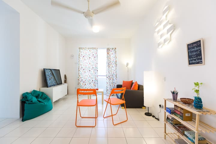 #IslandLiving Residence - Jelutong - Appartement