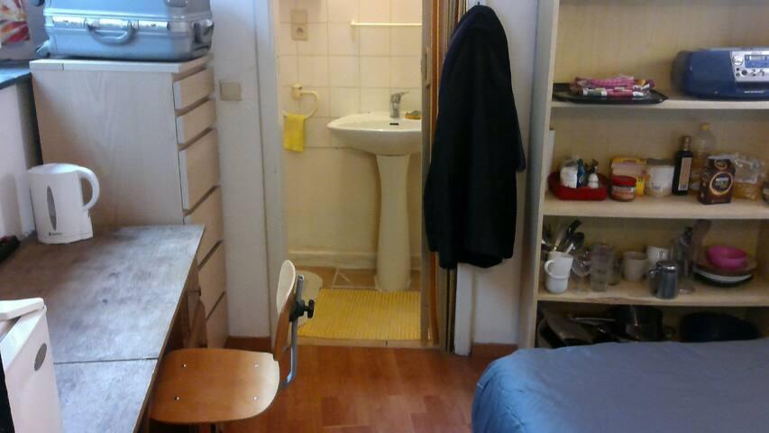 Chambre avec douche / WC - Bruxelles Centre