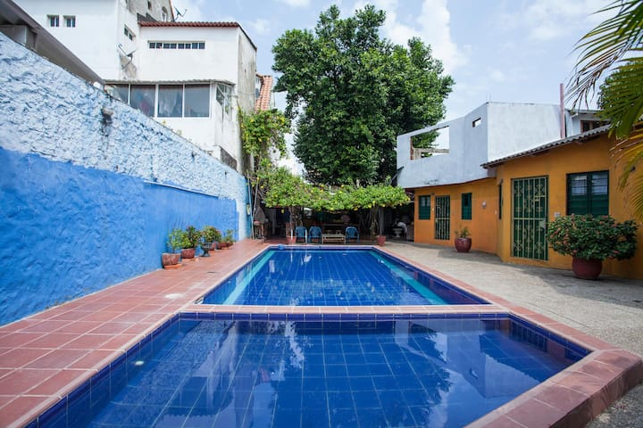 Great Twin Room -Conchas Chinas with swimming pool