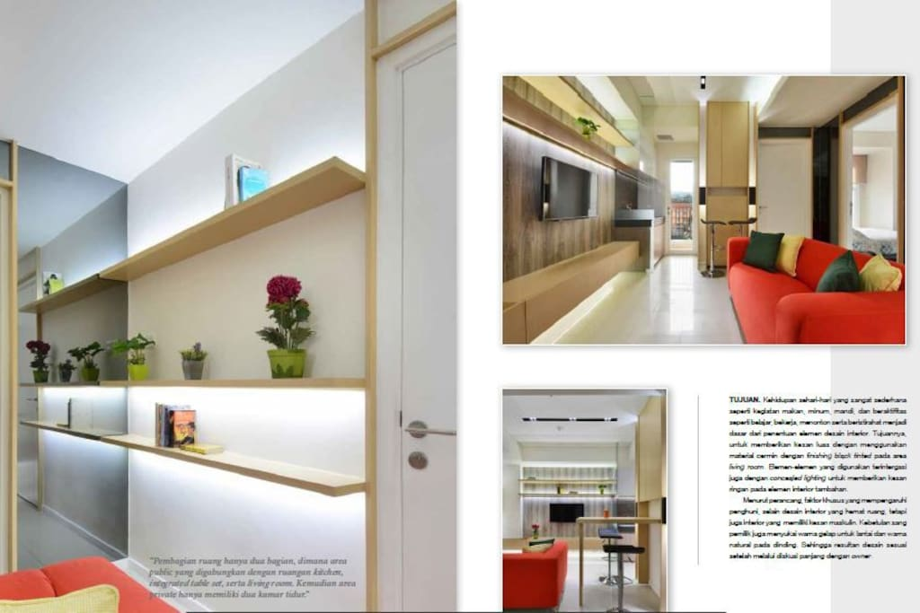 Our Apartment has been featured on Laras Magazine March 2017.