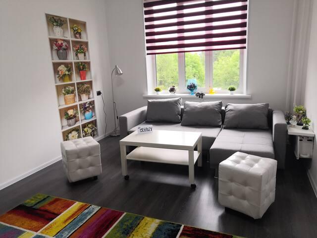 Просторная, светлая, чистая квартира в Оленегорске