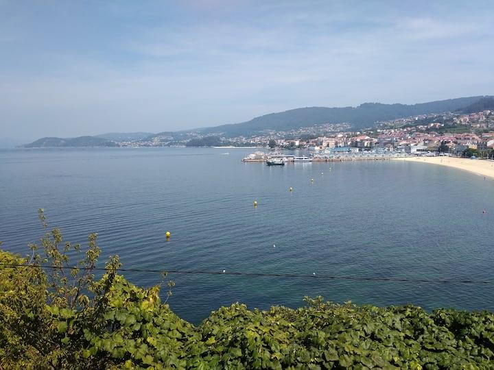 Piso en Bueu, vistas al mar, cerca de la playa (I)