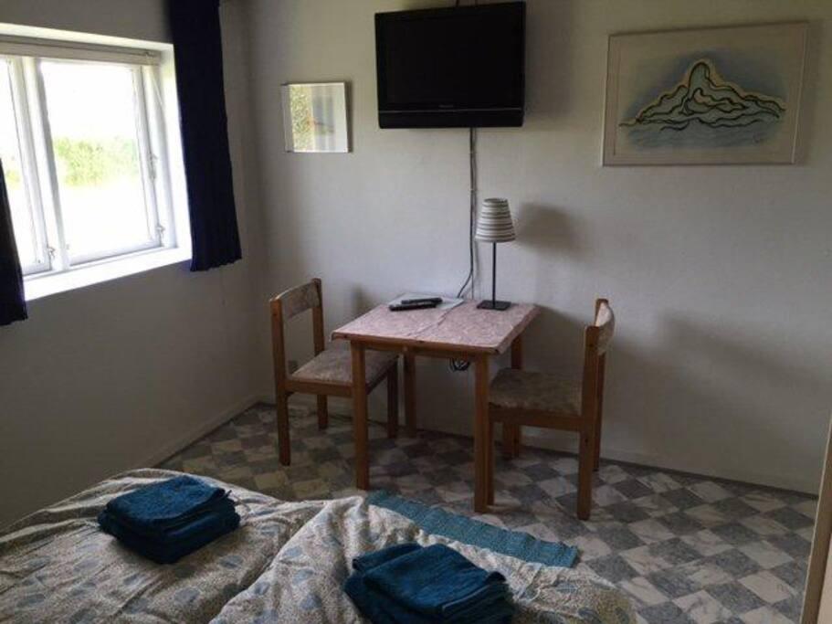 Spisebord på værelset