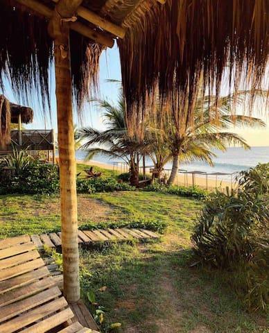 Bangalôs  MAMAZOO - Pé na areia de Caraiva