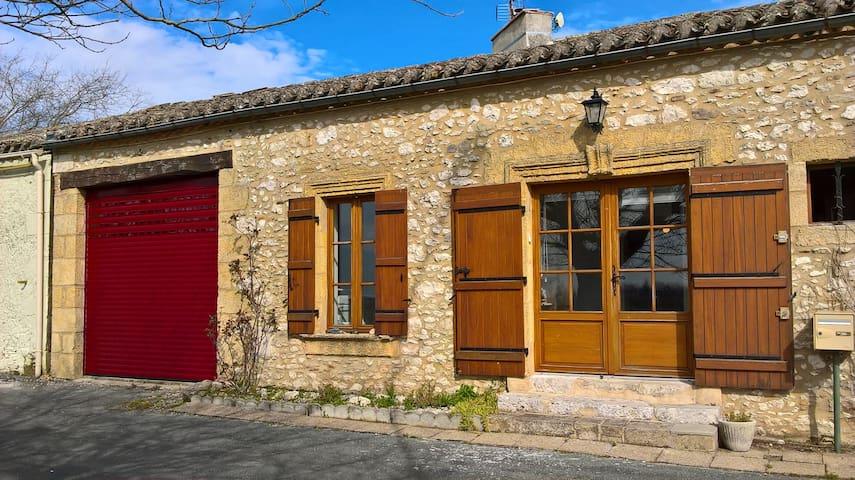 Maison Montagnac sur Lède - Monflanquin - Дом