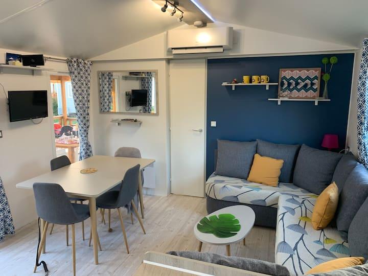 Mobil Home Luxe proche Vienne, parc du Pilat &Lyon