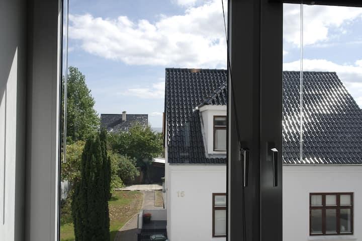 charmerende lejlighed  i Frederikshavn midtby