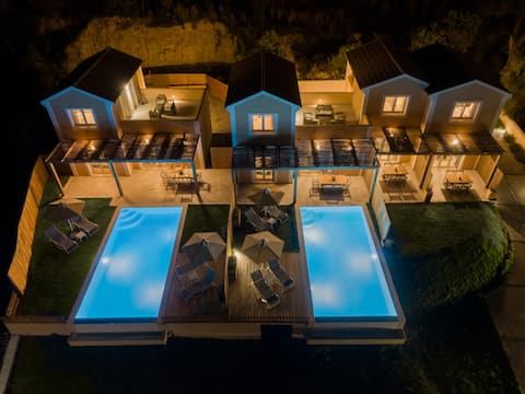 Reiki luxury villa with private swimming pool
