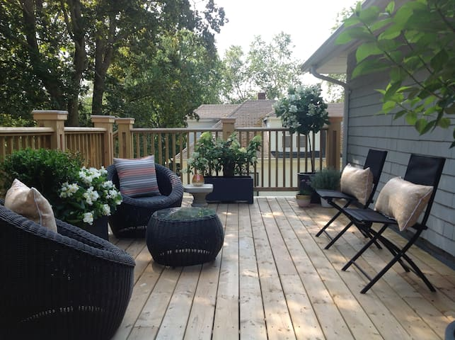 Charming Brighton character home with private deck