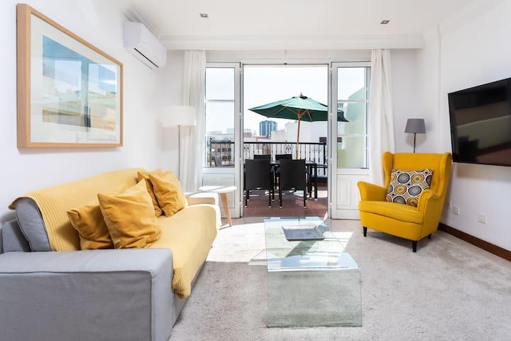 Rooms & Suites Terrace 3A en el centro de Arrecife
