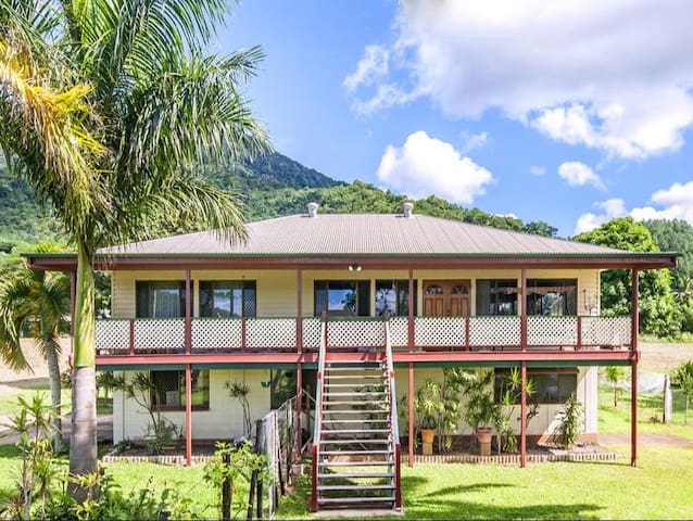 Tropical Family Friendly Eco Retreat (+WiFi) - Redlynch - Casa