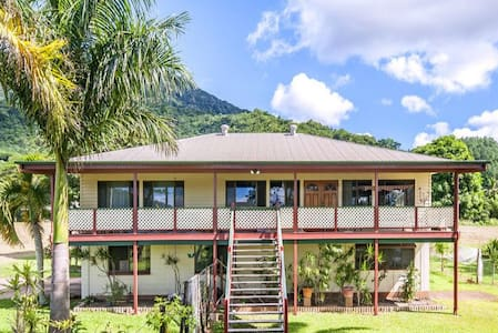 Big Tropical Family Friendly Eco Retreat (+WiFi) - Redlynch - บ้าน