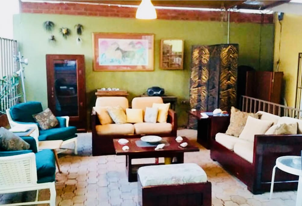 Our comfortable sofas and chairs will be perfect for a chats while having a delicious drink or two