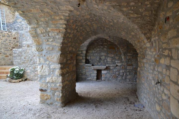 Cèze Vallei, Gard tussen Provence en Ardeche - Goudargues - Casa