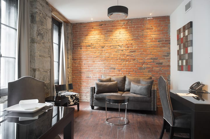 Loft with Private Bedroom in Old Montreal