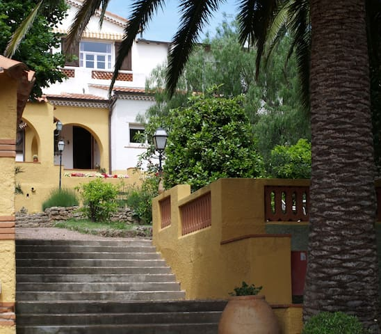 villa mélodie : una camera fra mare e sentieri - Saint-Raphaël - Casa